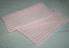 90x145cm single bed size Personalised keepsake baby blanket /& hat set