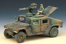 Plastic Model Kit Armor Military Vehicles US M966 HUMMER TOW Missile Carrier1/35