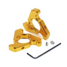 Motorcycle 19mm Gold Front Fork Preload Adjuster Aluminum For Suzuki GSXR600/750