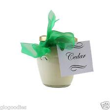 7cm Diameter Jar Scented Candle - Cedar