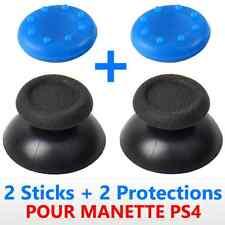 x2 JOYSTICKS BOUTONS ANALOGIQUE 3D STICKS POUR MANETTE PS4  DUALSHOCK 4 + 2 CAPS