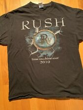 RUSH OFFICIAL TOUR CONCERT T-SHIRT 2010 TIME MACHINE M