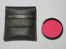 SINGH RAY 52mm Fluorescent Filter Lens USA With Case