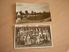 2 Vintage Postcards Of Staple Hill In Bristol Includes The Park & Dressing Up