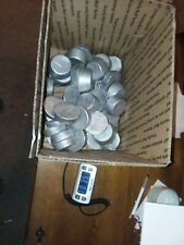 50+ Pounds Hard Cast Lead Ingots From Clip On Wheel Weights for casting bullets