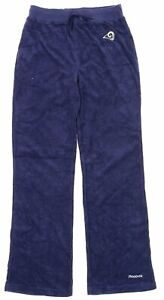 Reebok NFL Women's St. Louis Rams Terry Cloth Pants, Navy