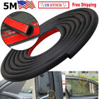 5m Auto Parts Car Door Seal Rubber Trim Trunk Edge Guard Strip D-shape Universal