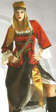 Pirate Queen Adult Caribbean Buccaneer Maiden Halloween Costume M