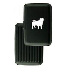 Aluminum Security Wallet Credit Card Case Purse RFID Blocking Pug Dog
