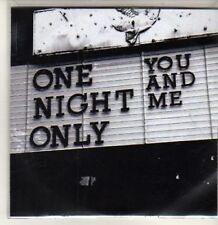 (BT889) One Night Only, You And Me - DJ CD