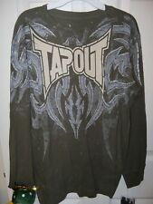 Tapout Long Sleeve Green Thermal Shirt Boys Size 8 NWT  #121