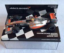 Minichamps 1.43 Scale Vodafone McLaren Mercedes Lewis Hamilton Showcar 2009.