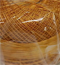 Lizbeth Cordonnet 100% Egyptian Cotton Thread  Size 80 - Color 611 Gold