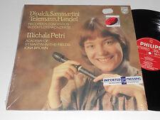 VIVALDI TELEMANN HANDEL SAMMARTINI Recorder Concertos Michala Petri Iona Brown