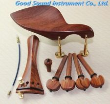 1 Sets of Fine Rosewood 4/4 Violin Parts,violin accessories