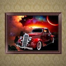 DIY Car 5D Diamond Embroidery Painting Rhinestone Cross Stitch Home Decor Gift