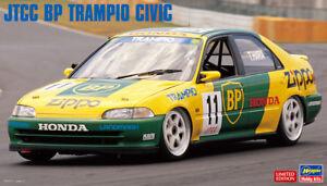 Hasegawa 20347 1/24 Model Car Kit JTCC Object-T BP Trampio Honda Civic Ferio '94