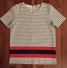 Madewell Striped Structured Tee Sz XS
