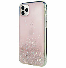 For iPhone 11 Pro Max - Switcheasy Pink Starfield Quicksand Style Case