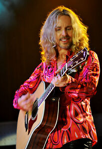 """8x10 (after matting) matted """"Tommy Shaw"""" of """"Styx"""" photograph."""