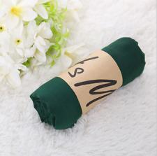 Fashion New Dark Green Style Lady Women Scarves Soft Cotton Scarf Wrap Shawl j09