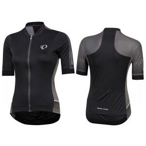 NWT Pearl Izumi Women's $110 Pursuit Speed Short Sleeve Jersey Black Grey XXL