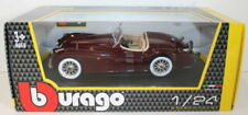 Voitures, camions et fourgons miniatures rouges Burago Roadster