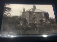 RPPC Rosegarth House Postcard with Cattle Cows Holderness East Yorkshire Village