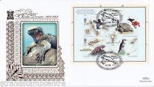 2009 Charles Darwin (FOGLIO IN MINIATURA) - BENHAM ORO (500) Ufficiale