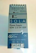 New  Sola SDN 2.5-24-100P Power Supply