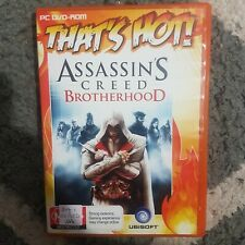 ⚔ Assassins Creed: Brotherhood || PC Video Game || Free Postage || Pre-owned
