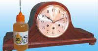 BEST synthetic clock oil for Mantel clocks, READ THIS Slick Liquid Lube Bearings