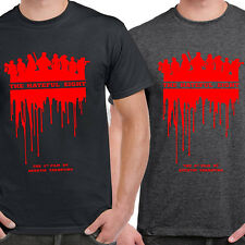 New The Hateful Eight 8 Unisex T-shirt Select Colour Black or Grey sizes S-3XL