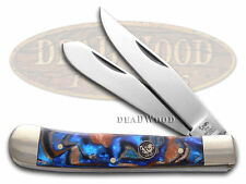 HEN & ROOSTER AND Blue Velvet Corelon Trapper Stainless Pocket Knife Knives