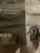 La Prairie Cellular Eye Cream Platinum Rare (3ml/0.10oz) New In Box