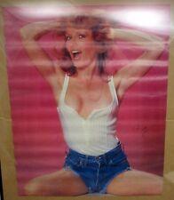 """Marathon Graphics 1979 Roz Kelly Poster #2047 22x28"""" Happy Days """"Pinky"""" Fonzie"""