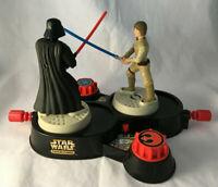 Vintage Star Wars Milton Bradley 1997 Luke & Darth Vader Fighting Figures