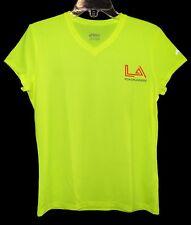 "Women's Sz M LA ROADRUNNERS ""LA Marathon in Training 2013"" V-Neck T-Shirt Poly"