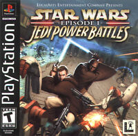Star Wars Episode I: Jedi Power Battles For PlayStation 1 PS1 Game Only 8E