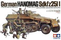 German Hanomag Sd.kfz.251/1 1:35 Plastic Model Kit TAMIYA