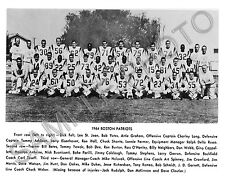 1964 BOSTON PATRIOTS AFL FOOTBALL 8X10 TEAM PHOTO