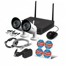 Swann NVW-485 1TB HDD 1080p WiFi Monitoring System CCTV Kit IP Wireless Cameras