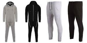 PREMIUM MENS Pique FULL TRACKSUIT hoodie slim fit jogging bottoms joggers lot a4