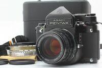 [MINT in CASE] PENTAX 6x7 67 TTL Body SMC Takumar 105mm f/2.4 Lens from JAPAN