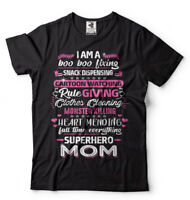 Superhero Mom Mother's Day Gift T-shirt Gift For Mom Mothers Day Shirt for Mom