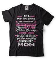 Superhero Mom Mother's Day Gift T-shirt Gift For Mom Mothers Day Shirt for Mom