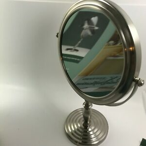 Conair Classique Collection Classic Vanity Stand Mirror 41778 Chrome Magnify 5XB
