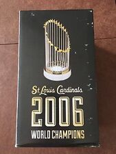 2016 St Louis Cardinals SGA 2006 Replica World Series Trophy