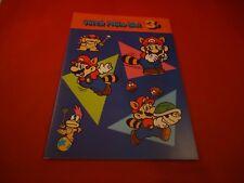 Super Mario Bros. 3 Nintendo NES RARE Promotional Notebook Japan Promo *NEW*