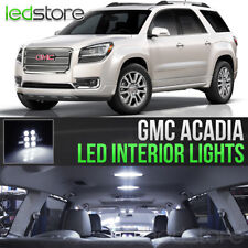 2007-2016 GMC Acadia White LED Lights Interior Kit